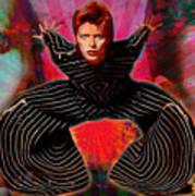 Legend Of Bowie  Art Print
