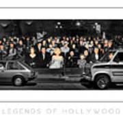 Legends Of Hollywood Poster Art Print
