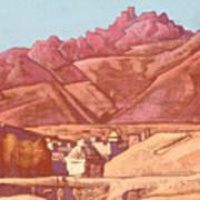 Leh, Ladakh Art Print