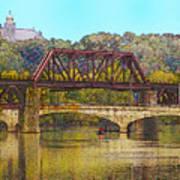 Lehigh River - Easton Pa Art Print