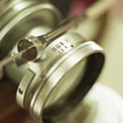 Leica 3c Macro Lens Aperture Ring Art Print