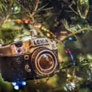 Leica Christmas Art Print