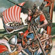 Leif Ericsson, The Viking Who Found America Art Print