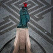 Leifur Eriksson Statue Art Print