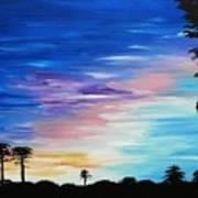 Lejeune Sunset Art Print