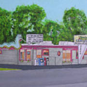 Lemmy's Huron Ohio Art Print