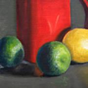 Lemon And Limes Art Print