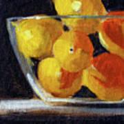 Lemon Bowl Art Print
