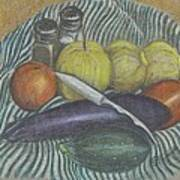 Lemon Cucumbers Art Print