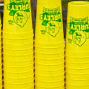 Lemon Cups Art Print