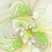 Lemon Lime Curly Art Print