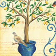 Lemon Tree Of Life Art Print