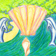 Lemuria Atlantis Art Print