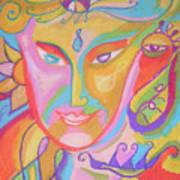 Lemurian Dreamer Art Print