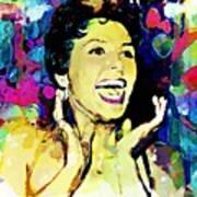 Lena Horne Art Print by Lynda Payton