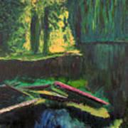 Lena Lake II Art Print