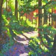 Lena Lake Trail II Art Print
