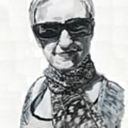 Lena Noble, Portrait Art Print