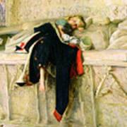 L'enfant Du Regiment Art Print by Sir John Everett Millais