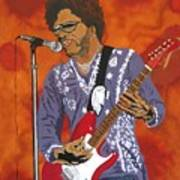 Lenny Kravitz-the Rebirth Of Rock Art Print