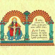 Lenten Crucifixion Art Print