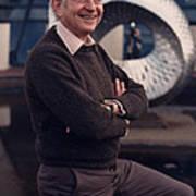 Leon Lederman, American Physicist Art Print