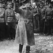 Leon Trotsky (1879-1940) Art Print by Granger