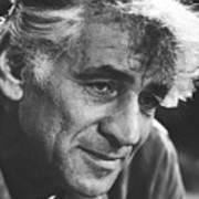 Leonard Bernstein 1970 Art Print