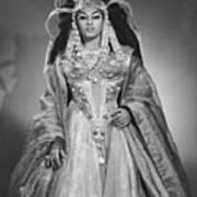 Leontyne Price B. 1927, As Cleopatra Art Print