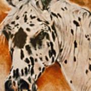 Leopard Appy Art Print