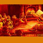 Leopold's Storytime Art Print