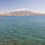Lerapetra From Across The Bay Art Print