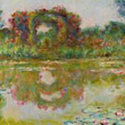 Les Arceaux De Roses. Giverny Art Print