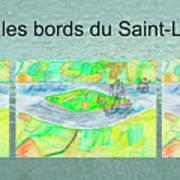 C'est Sur Les Bords Du Saint-laurent Mug Shot Art Print