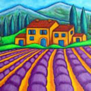 Les Couleurs De Provence Art Print