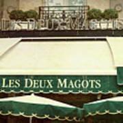 Les Deux Magots - #1 Art Print