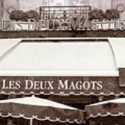 Les Deux Magots - #2 Art Print