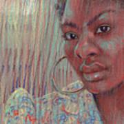 Leslie K Art Print