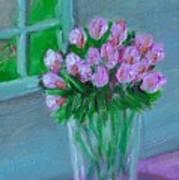 Leslie's Roses Art Print