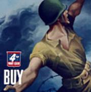 Let Em Have It - Buy Extra Bonds Art Print
