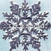 Let It Snow 2 Art Print