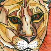 Let The Lioness Arise Art Print