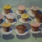 Let Them Eat Cupcakes Art Print