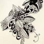Let Your Pen Flow Art Print