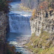 Letchworth Middle Falls Art Print