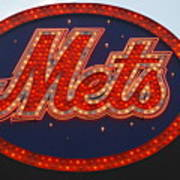 Lets Go Mets Art Print by Richard Bryce and Family