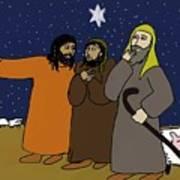 Let's Go To Bethlehem Art Print