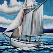Let's Set Sail Art Print
