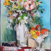 Letter Bouquet Art Print