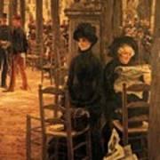 Letter L With Hats Jacques Joseph Tissot Art Print